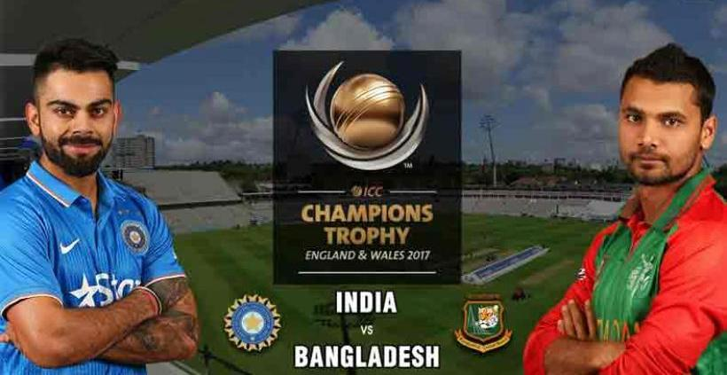 Champions Trophy semifinal: India elect to field against Bangladesh