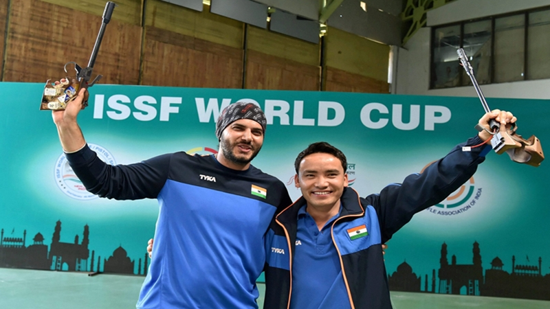 Jitu Rai wins gold, Amanpreet settles for silver in ISSF World Cup