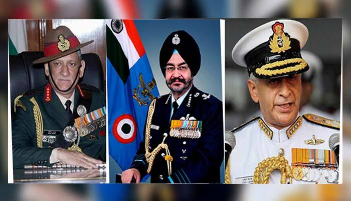 Army, IAF, Navy to address media on India-Pakistan tension today evening