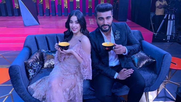 Koffee with Karan 6: Janhvi to make her debut on the show with brother Arjun Kapoor