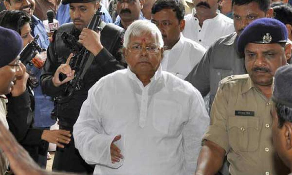 CBI court to pronounce on January 3 quantum of punishment to Lalu Prasad and 15 others convicted in fodder scam case: Special judge Shivpal Singh.