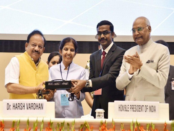 President unveils India's first Lithium-Ion charger