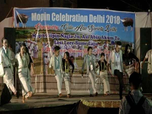 New Delhi celebrates the Arunachal Mopin Festival