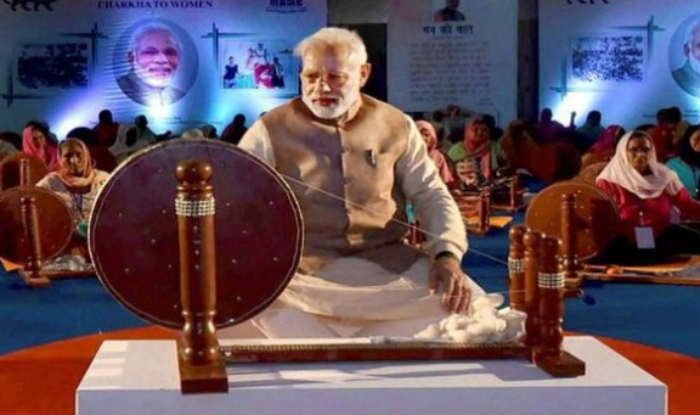 Modi on Khadi calendar: No one can replace Mahatma, says minister