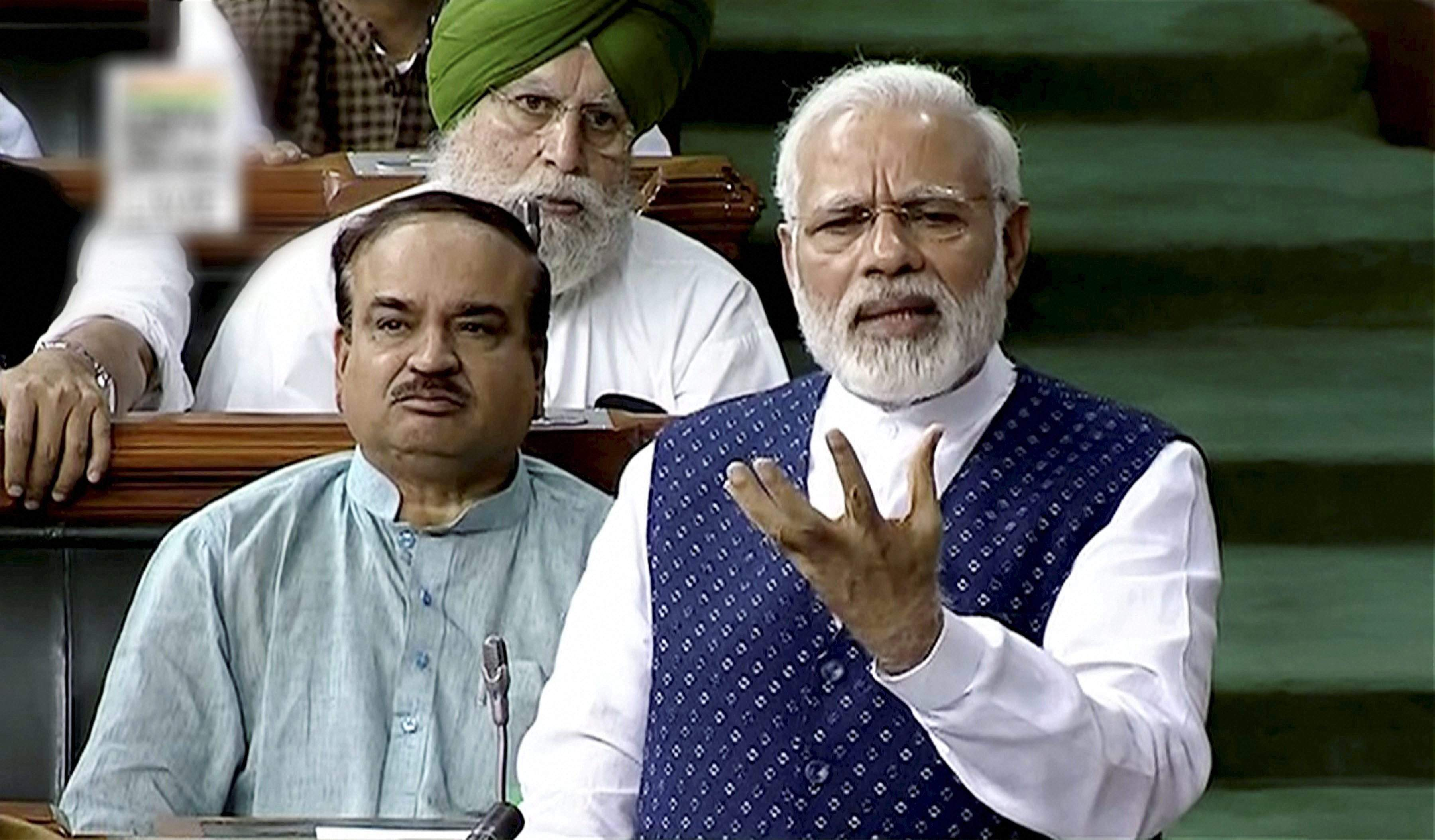 In Quit India spirit, Parl pitches for strengthening secularism, democracy