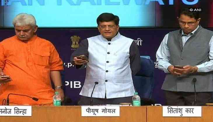 Centre launches 'Rail MADAD', 'Menu on Rails' mobile apps