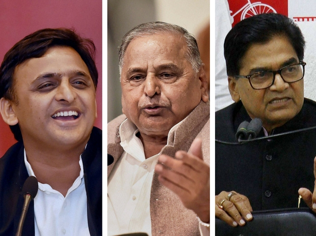 Last minute patch-up in feud-ridden SP;Akhilesh, Ramgopal back