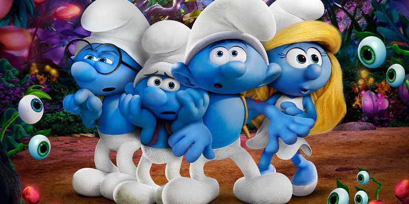 SMURFS: THE LOST VILLAGE (An entertaining fare for kids)