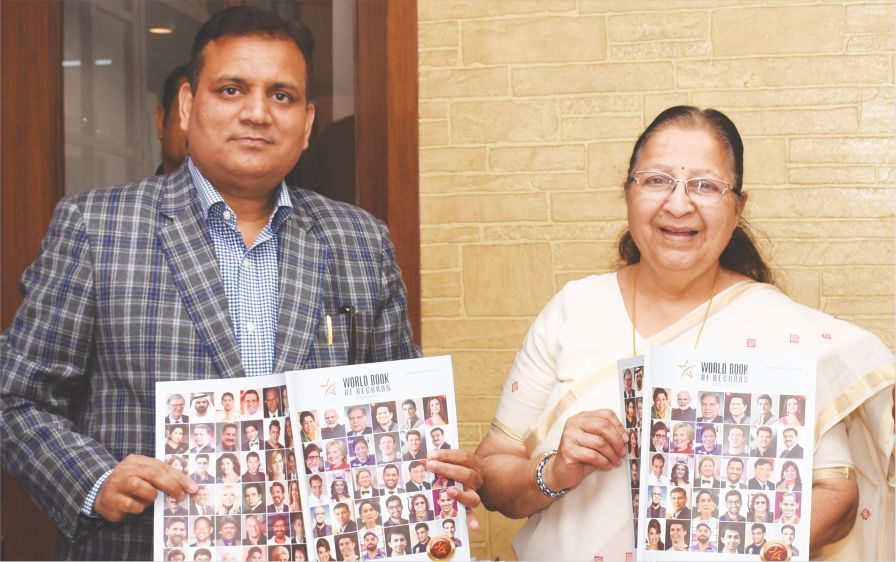 Smt. Sumitra Mahajan (Speaker of the Lok Sabha) Releases Overseas Edition of World Book of Records Magazine
