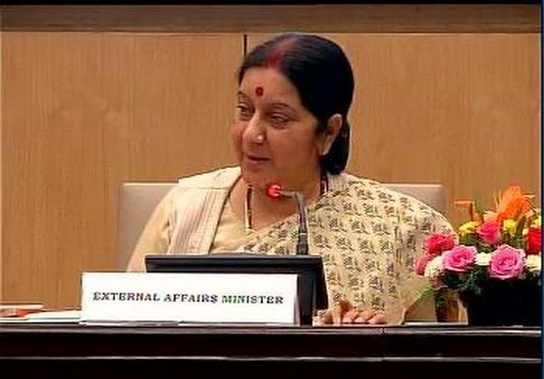 Swaraj meets Iranian counterpart, discusses nuclear deal
