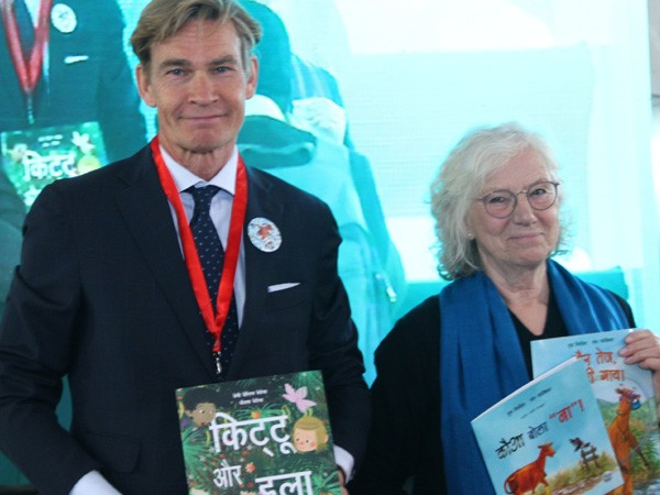 Hindi version of Swedish children books launched at Delhi World Book Fair 2018