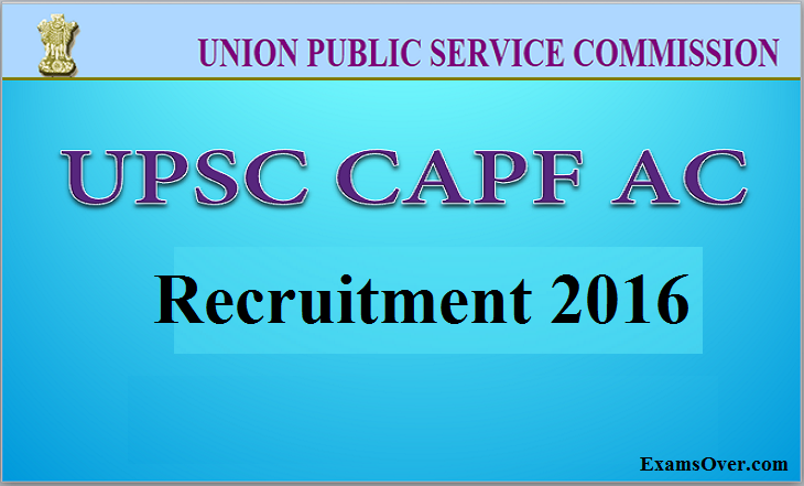 UPSC notifies recruitment: Apply online