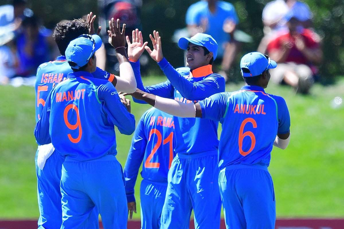 U-19 WC: India storm into finals with 203-run win over Pak