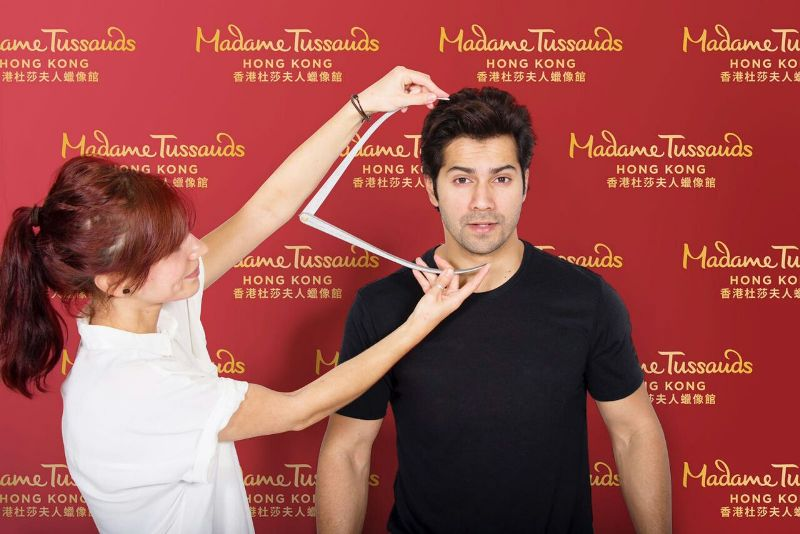 Varun's wax figure to feature at Hong Kong's Madame Tussauds