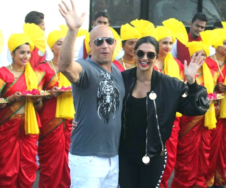 xXx 3: Deepika And Vin Diesel Get Grand Welcome In India