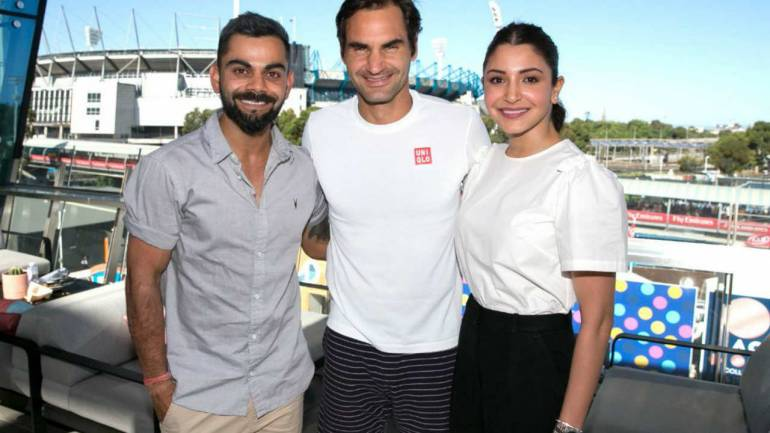 Kohli meets Roger Federer, finishes Australian summer in style
