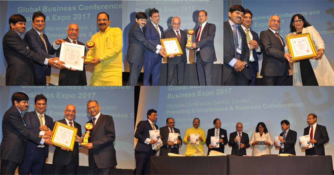 World Book of Records - London (UK) Honours Personalities of Business Exponents