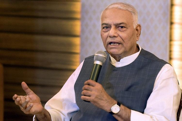 Yashwant Sinha quits BJP, says he will work to save democracy