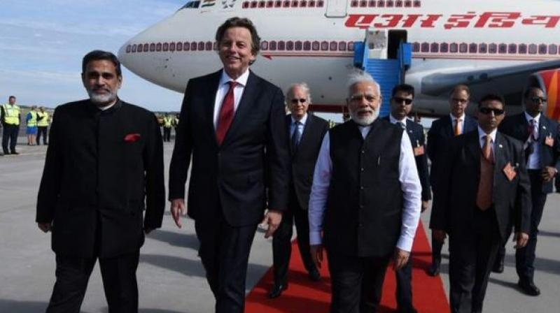 PM Modi arrives in Netherlands on final leg of his three-nation tour