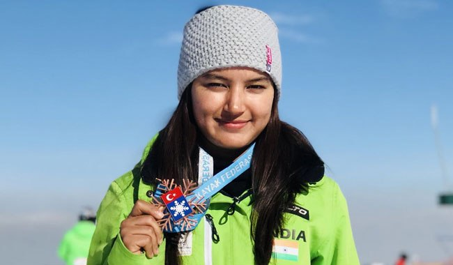 PM hails skier Aanchal Thakur's 'historic accomplishment'