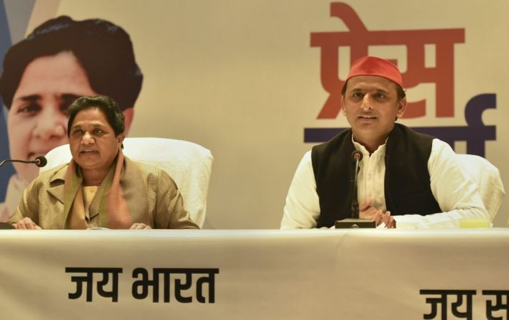 SP, BSP announce tie-up sans Congress for Lok Sabha polls, to contest 38 seats each in UP