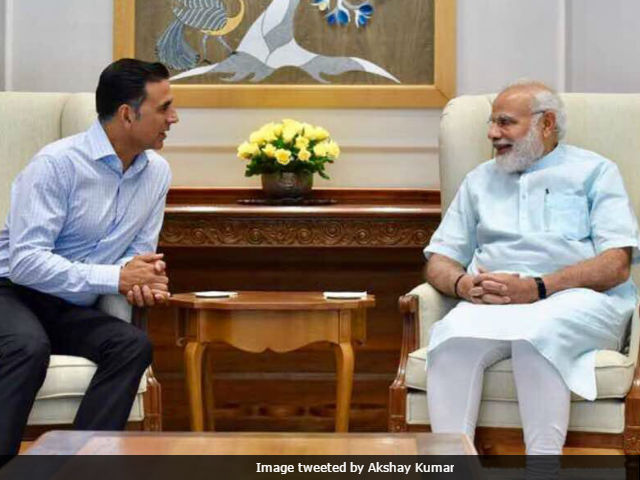 Akshay Kumar Told PM Modi About Toilet: Ek Prem Katha, Made Him Smile