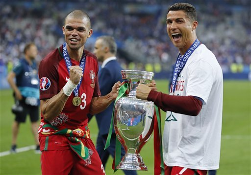 Euro 2016 Final: Cristiano Ronaldo dedicates triumph to all immigrants