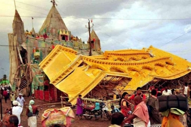 Simhastha Kumbh Mela in MP: Seven people killed, over 80 injured as tents collapse in thunderstorm