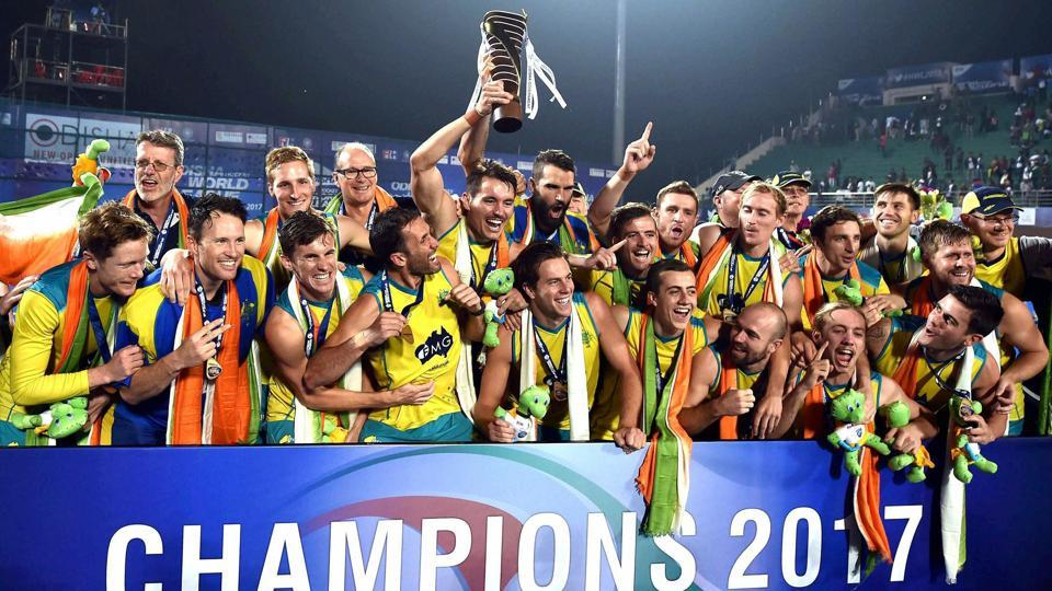 Australia wins Men's Hockey World League title