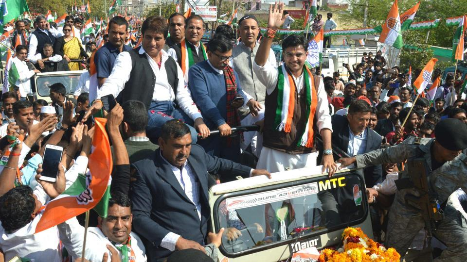 Rajasthan bypolls: Cong wins Mandalgarh seat, leads in Alwar, Ajmer