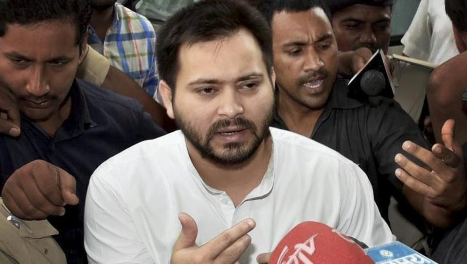 Tejashwi Yadav breaks silence on CBI raids, says 'FIR against me political vendetta