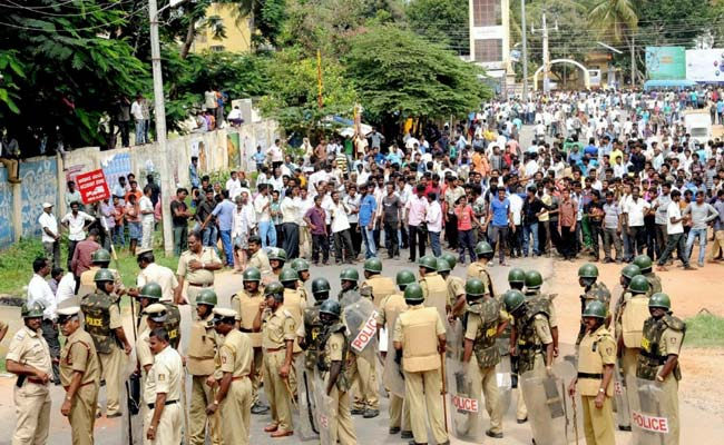 PM Modi 'pained' at Cauvery violence, urges TN, Karnataka to 'display sensitivity'