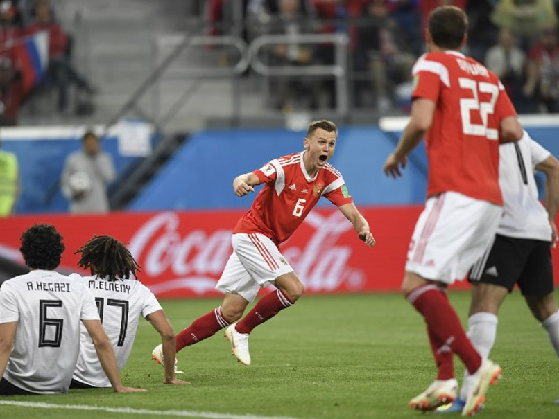 FIFA World Cup: Russia beat Egypt 3-1