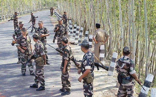 Three jawans critical after encounter with Maoists in Sukma