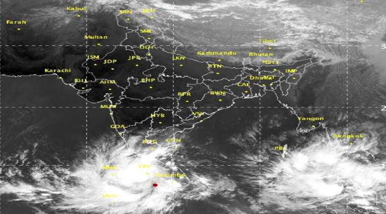 Cyclonic storm 'Ockhi' in Tamil Nadu, Kerala; authorities issue warning