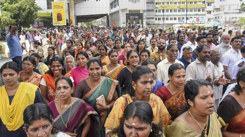 Kerala Government Wants To Keep 2 Days A Week for Women At Sabarimala