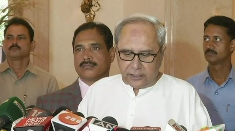 BJD not to be part of Mahagathbandhan: Patnaik