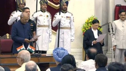 PM Modi congratulates Justice Dipak Misra on taking oath as Chief Justice of India