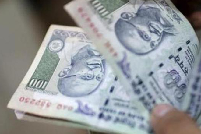Rupee softens 4 paise against dollar in early trade