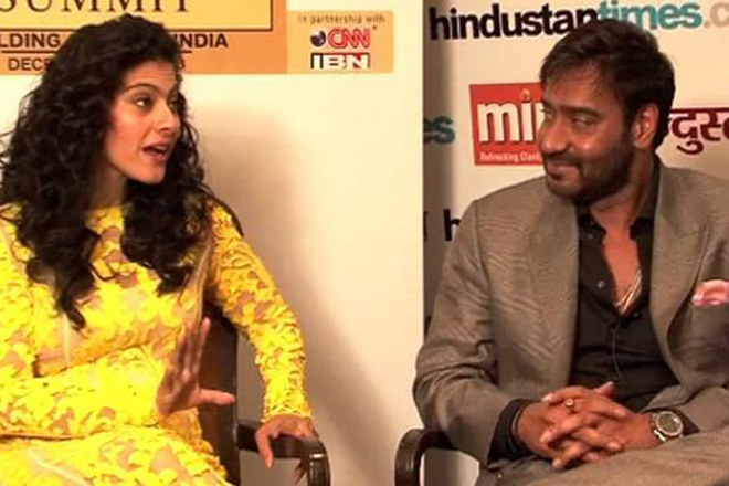 Shivaay effect? Ajay Devgn, Kajol and their Twitter PDA