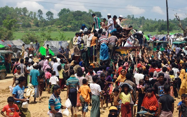 Centre files affidavit in Supreme Court terming Rohingyas threat to national security