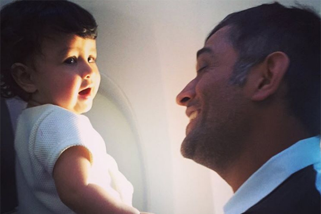 Will make my daughter feel that I am her dad: Dhoni's checklist for break