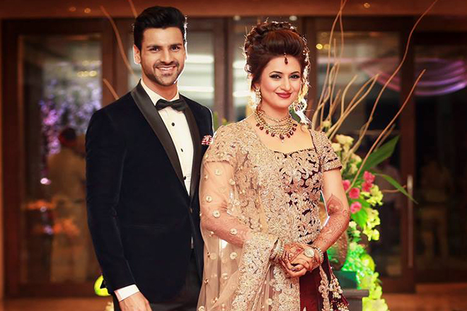 Divyanka Tripathi wedding: Bride and groom's pics from the reception