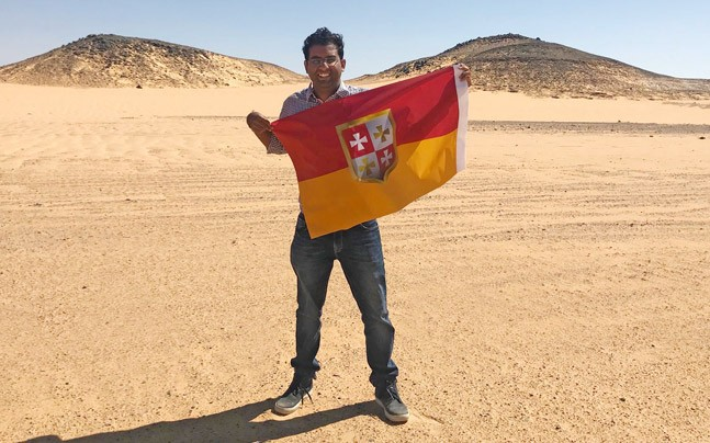 Indore man declares himself 'king' of his own 'kingdom' near Egypt