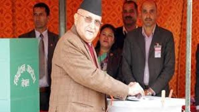 Nepal's agitating parties vote for Bhandari in presidential elections