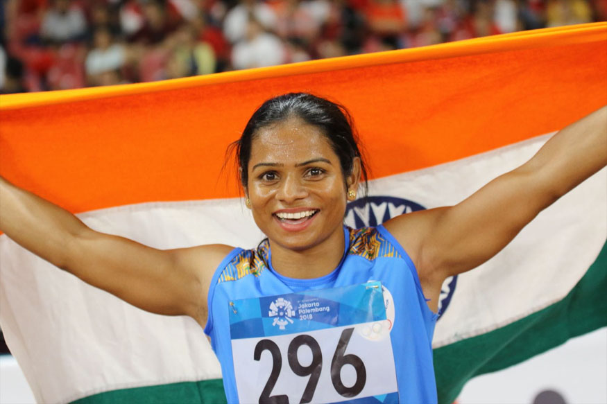 Dutee bags second medal, wins 200m silver