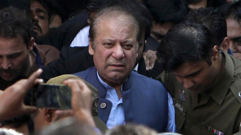 Nawaz Sharif sentenced to 7 years in jail on graft charges
