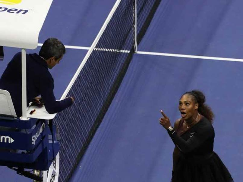 Serena Williams fined $17,000 for US Open meltdown