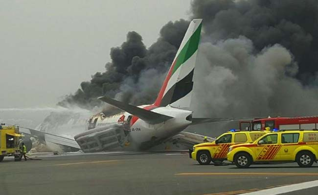 Emirates flight from Thiruvananthapuram crash lands in Dubai