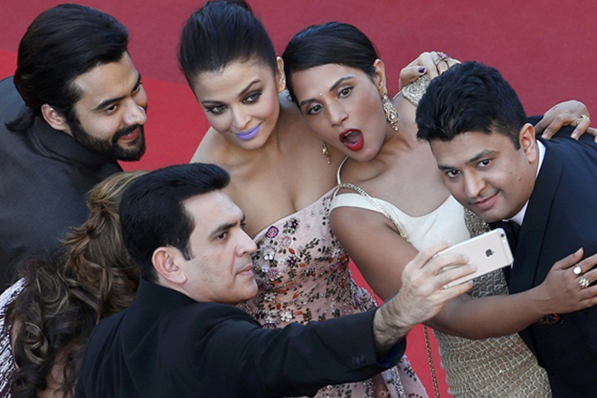 Aishwarya, Richa Chadha's night out in Cannes, Randeep Hooda gave a miss